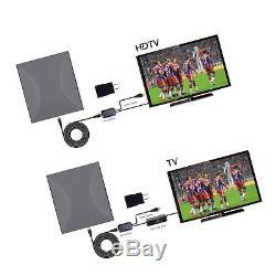 160miles Outdoor Amplified TV Antenna AatalTV Upgrade Omni Directional HDTV
