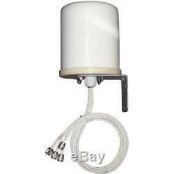 2.4-2.5/5.15-5.85GHz 6dBi Outdoor Omni Antenna