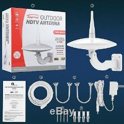 2020 New Version Outdoor TV Antenna 1byone 720°Omni-Directional Reception