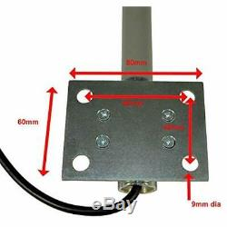 3G / 4G LTE 9 DBi Omni-Directional Permanent Mount Outdoor Fiberglass Antenna
