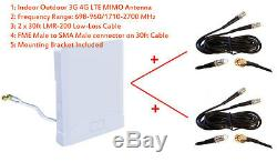 3G 4G LTE Omni MIMO Antenna for Bell Alcatel Link hub HH40V Router