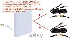 3G 4G LTE Omni MIMO Antenna for Huawei B593 b593b b593s B890 4G LTE Smart Hub