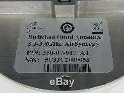 AIRSPAN AIRSYNERGY 3.65GHz TDD 902-13-300 with SWITCHED OMNI ANTENNA 350-07-017