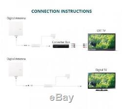 ANTOP Amplified Outdoor Antenna with Omni-directional 360 Degree Reception