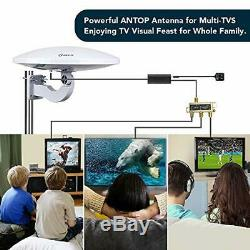 ANTOP PL-414BG HDTV Antenna UFO 360° Omni-Directional Reception with Smartpass