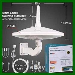 ANTOP UFO 720°Dual Omni Directional Outdoor HDTV Antenna Ex Dual Omi Electronics