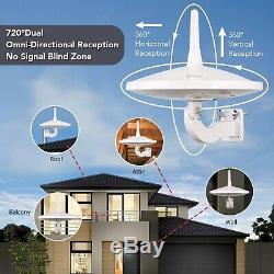 ANTOP UFO 720°Dual-Omni-Directional Outdoor HDTV Antenna Exclusive Smartp. New