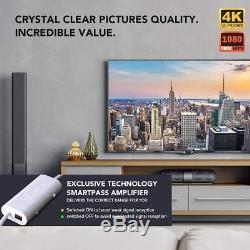 ANTOP UFO 720°Dual-Omni-Directional Outdoor HDTV Antenna Exclusive Smartpass