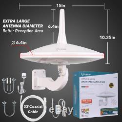 ANTOP UFO 720°Dual-Omni-Directional Outdoor HDTV Antenna Exclusive Smartpass &4G