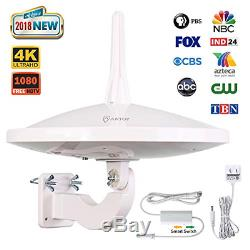 ANTOP UFO 720°Dual-Omni-Directional Outdoor HDTV Antenna Exclusive Smartpass &4G