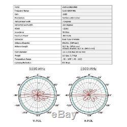 Altelix 5 GHz 13 dBi WiFi Pro MIMO Omni Antenna Kit for use with Ubiquiti