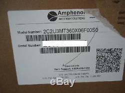 Amphenol C2U3MT360X06F00S0 Hepta Band, 14-Port, Canister, Omni, XPOL, 360° NEW