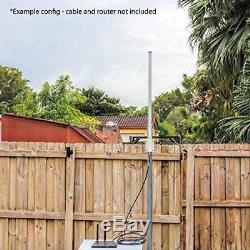 Antenna World OM2415HD 15 dBi Omni-Directional Wi-Fi Professional Grade