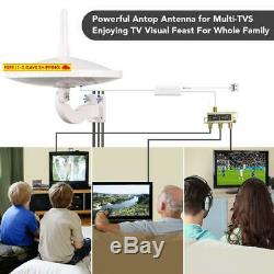 Antop Ufo 720°Dual-Omni-Directional Outdoor Hdtv Antenna Exclusive Smartpass Am
