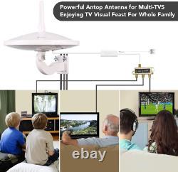 Antop Ufo 720°Dual-Omni-Directional Outdoor Hdtv Antenna Exclusive Smartpass Am
