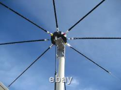 Chameleon Antenna SPIDER ASB Octagon Antenna Base for 4 Pairs of HF Hamsticks