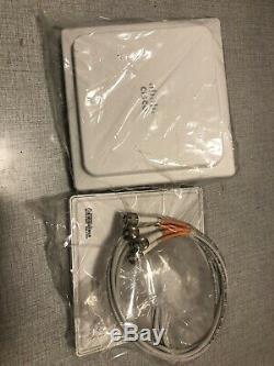 Cisco AIR-ANT2524V4C-R = 2.4GHz 2dBi/5GHz 4dBi Ceiling Mount Omni Ant, 4-Port