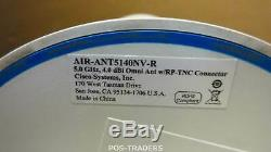 Cisco AIR-ANT5140NV-R Omni-Directional 3-Element Wifi Antenna 5GHz MIMO RP-TNC