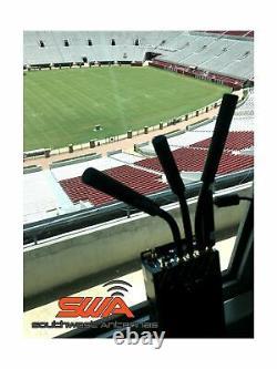 Dual Band Omni-Directional Antenna, Half Wave Dipole, 2.1-2.5 GHz & 4.4-5.9 G