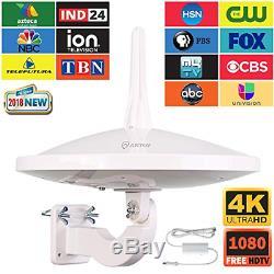 Dual Omni Directional Amplified HD Digital TV Antenna 65 HDTV Outdoor Antenna