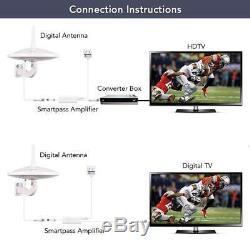Dual-Omni-Directional Outdoor TV Antenna ANTOP HD Digital TV Antenna with