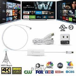 Dual-Omni-Directional Outdoor TV Antenna ANTOP HD Dual Omni UFO Antenna