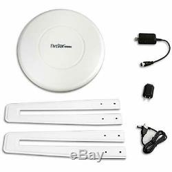 Five Star Newest 2020 HDTV Antenna 360° Omni-Directional Reception Amplified
