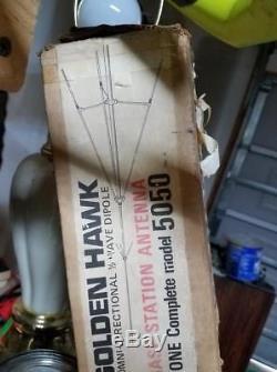 Golden Hawk Omni Directional 1/2 Way Dipole CB Base Antenna