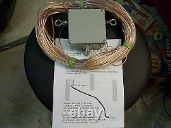 HF Ham radio Sky Loop antenna 40 20 15 and 10 meters and 2.5 to1 balun hang-n-go