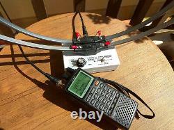 HF Loop Antenna for Portable Base Radio Scanner Receiver icom Yaesu AOR Sony