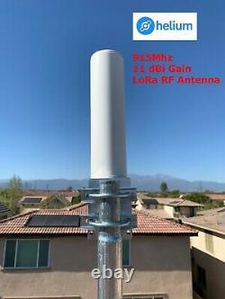 Helium Hotspot Miner 11 dBi Omni-directional 915Mhz Antenna LMR-400 COMBO BUNDLE
