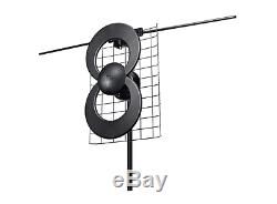 Indoor/Outdoor Stand Alone Digital HDTV Non-Amplified Omni-Directional Antenna