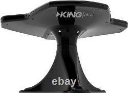 KING Jack Digital RV Over-the-Air DTV HDTV TV Antenna with Mount & Signal Finder