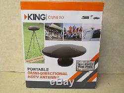 King OA1501 Omni Go Portable Omni-Directional OTA HDTV Antenna