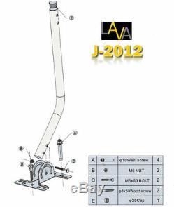 LAVA HD-8008 Antenna Omnipro/Omni-Directional HD/4K Outdoor Antenna w J Pole