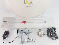 LAVA HD-8008 Omnipro/Omni-Directional HDTV Antenna with J-Pole and Splitter