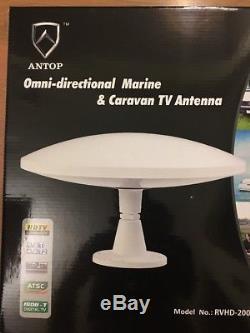 LAVA Omni-directional Marine & Caravan Outdoor HDTV Antenna, RVHD-2000