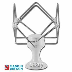 Maxview B2345 Omnimax Pro 12/230V Omni-directional Mobile TV Aerial-White
