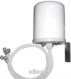 NEW TerraWave M6060060MO1D3607O 2.4/5 GHz 6 dBi Omni WiFi Antenna