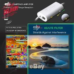 Omni-Directional Outdoor Amplified Tv Antenna, Antop Ufo 65 Mile Hdtv Attic/Rv/Ro