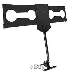 Outdoor Digital HD TV Antenna 360° Omni-Directional & Mounting Pole 150mi 241km