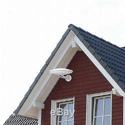Outdoor Indoor 360° Omni-Directional Digital Amplified HD TV Antenna 70mi 112km