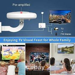 Outdoor TV Antenna, 1byone 360° Omni 360° Omni-Directional Outdoor TV Antenna