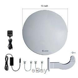 Outdoor TV Antenna -Antop Omni-Directional 360 Degree Reception Outdoor
