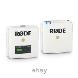 Rode Wireless GO Compact Digital Wireless Microphone System 2.4 GHz, White
