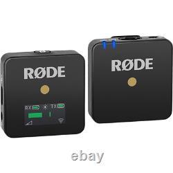 Rode Wireless GO Ultra Compact Digital Wireless Microphone System Black
