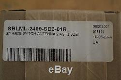 SYMBOL ML-2499-SD3-01R 2.4-2.5 GHZ 3.5dBi Low Profile Omni S. T. I. SQ2403PS48RBN