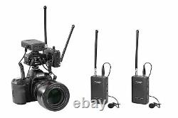 Saramonic Wireless VHF Dual Lavalier Microphone System & Mixer for DSLR Cameras