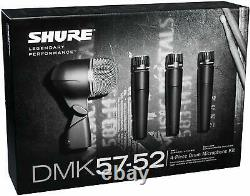 Shure DMK57-52 Complete Microphone Drum Kit with case UPC 0042406081887