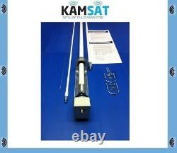 Sigma Euro-comm Se-hf-360 Fibre Glass Vertical Antenna 80 To 6 Metres